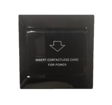 Энергосберегающий карман для гостиниц SEVEN LOCK P-7751 black