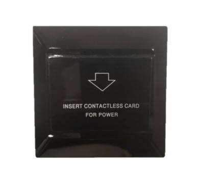 Энергосберегающий карман для гостиниц SEVEN LOCK P-7751 black, фото 2
