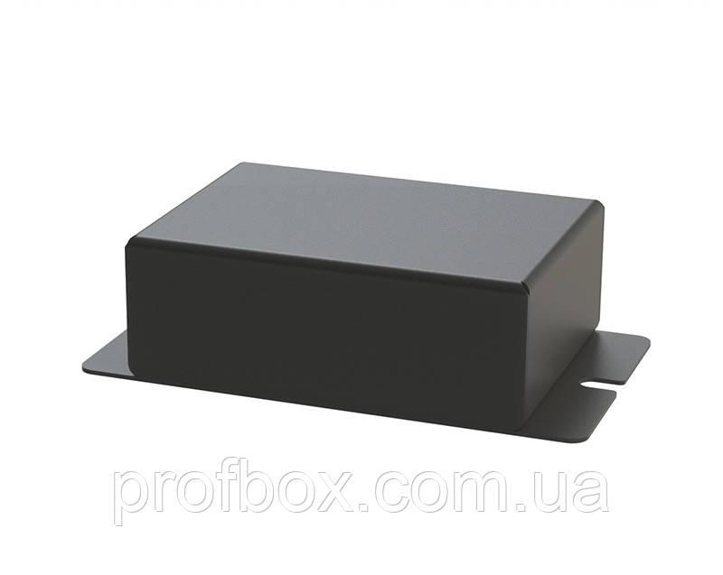 Корпус металевий з кріпленням на стіну МВ-60 (Ш70 Г50 В25) чорний, RAL9005 (Black textured)