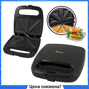 Сэндвичница бутербродница электрическая Domotec MS-7777