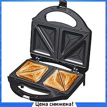 Сэндвичница бутербродница электрическая Domotec MS-7777, фото 2