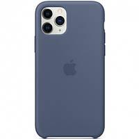 Чехол Silicone Case для Apple iPhone 11 Pro Синий / Navy Blue