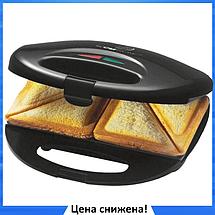 Сэндвичница бутербродница электрическая Domotec MS-7777, фото 3