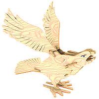 Игрушки из дерева Мир деревянных игрушек 3D пазл Сокол Е037, КОД: 2436420