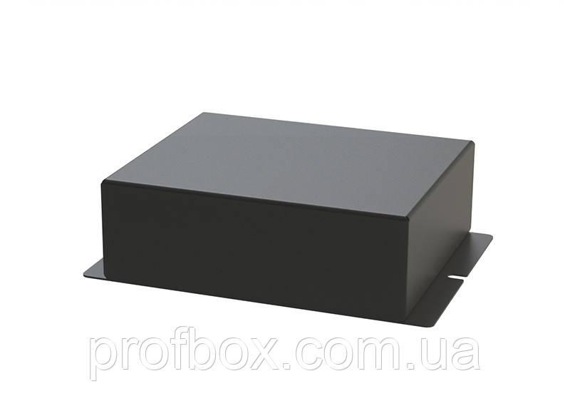 Корпус металевий з кріпленням на стіну МВ-62 (Ш120 Г110 В40) чорний, RAL9005 (Black textured)