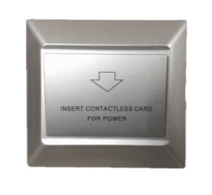 Энергосберегающий карман для гостиниц SEVEN LOCK P-7751 silver, фото 2