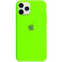 Чехол Silicone Case для Apple iPhone 11 Shiny green