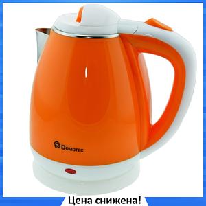 Электрочайник MS-5022 Оранжевый 2л/1500W - Чайник электрический из нержавеющей стали