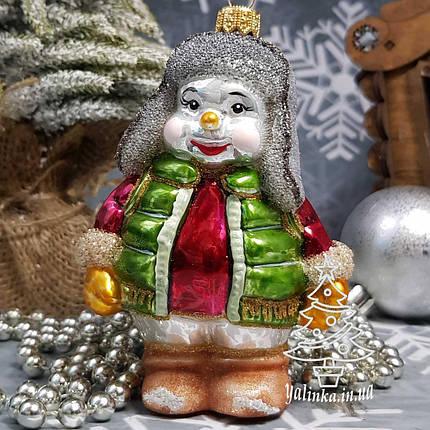 Снеговик в жилете и шапке ушанке Irena, фото 2