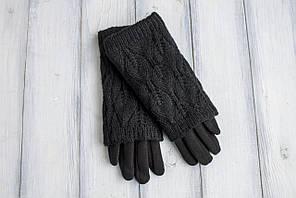 Жіночі рукавиці в'їхав язка