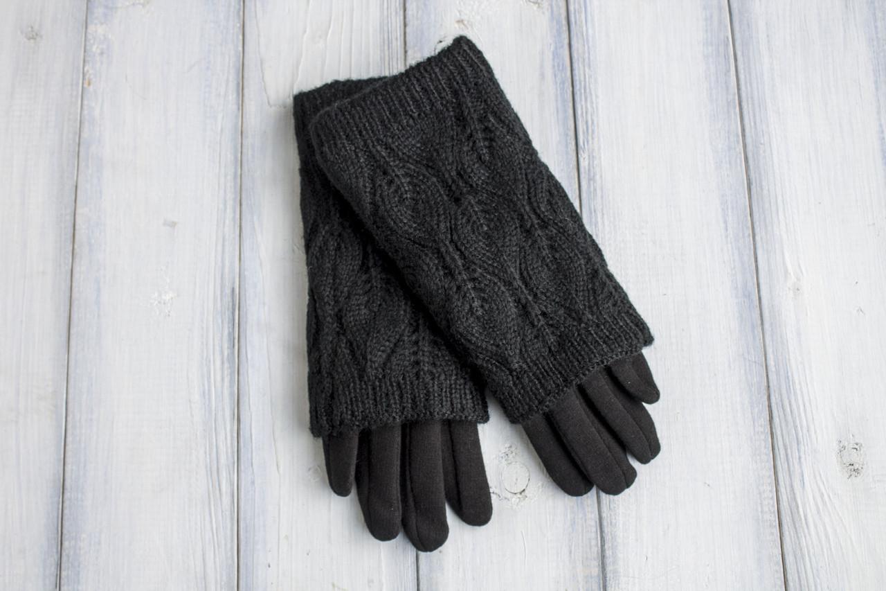 Жіночі рукавиці в'язка