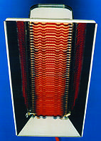 Газовый инфракрасный брудер 12 ZRFS (5,552 кВт) полуавтомат, фото 1