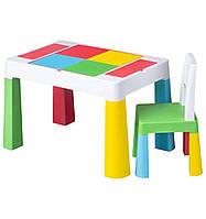 Комплект детской мебели TEGA BABY MULTIFUN (стол + стульчик) оригинал мультиколор, фото 1