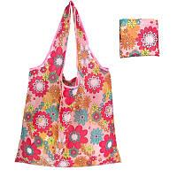 Женская сумка для покупок eTya складывающася Розовая AJbs03, КОД: 1551983