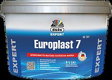 Фарба DUFA Європласт 7 DE 107 латексна п матова 5 л Білий 4915, КОД: 2373659