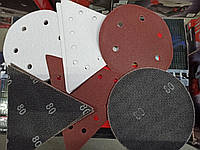 Абразивная шлифовальная бумага 15 шт. Р80 Р120  KWB для TE-DW 225 [491065]