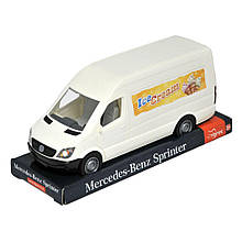 Автомобиль Tigres Mercedes Benz Спринтер грузовой белый на планшете 39700, КОД: 2431797