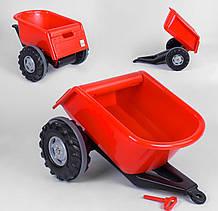 Прицеп к педальным тракторам Pilsan Trailer 07-295 красный