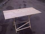 Стол раскладной для торговли или пикника 70х100 см туристический, фото 2