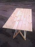 Стол раскладной для торговли или пикника 70х100 см туристический, фото 3