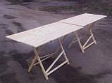 Стол раскладной для торговли или пикника 70х100 см туристический, фото 4