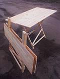 Стол раскладной для торговли или пикника 70х100 см туристический, фото 5