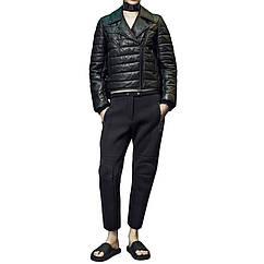 Кожаная утепленная куртка Alexander Wang 40 Черный 5054605-EUR-40, КОД: 2316139