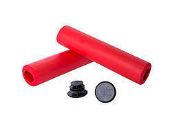 Ручки керма Green Cycle GGR-701 130 mm Red GRI-10-85, КОД: 955020