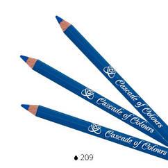 Карандаш для век Cascade of Colours 209 1.14 г Кобальт 102-209, КОД: 1563624
