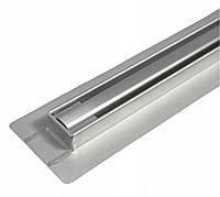 Трап для душа BW Tech Slim 60 см нержавейка поворотный выход RSK01600, КОД: 2364859