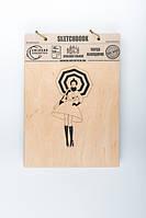 Скетчбук Drevych Girl with umbrella А5 40 листов 0156125, КОД: 2447743