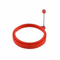 Силиконовая форма для жарки яиц CUMENSS Круг Red 5669-19067, КОД: 2452212