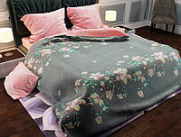 Семейный набор хлопкового постельного белья из Бязи Gold 154159AB Черешенка BC4G154159AB, КОД: 1891512