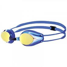 Детские очки для плавания Arena TRACKS JR MIRROR 1E560-073 Blue-yellow hubfNvu62293, КОД: 1795368