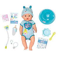 Кукла Zapf Baby Born Очаровательный малыш с аксессуарами 43 см 824375, КОД: 2430681