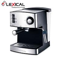 Кофемашина с капучинатором LEXICAL LEM-0602 850W