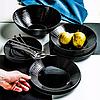 Тарелка десертная чёрная Harena Black 160 мм L7613, фото 3