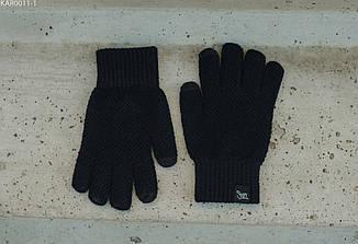 Перчатки вязаные мужские Staff black size S-M Цвет: - чёрный., фото 2