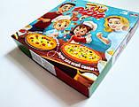 Настільна гра для всієї родини IQ Pizza 5+ (для 2-4 гравців) (Danko Toys), фото 3
