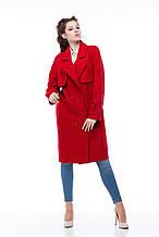 Женское пальто ORIGA Фелиция 44 Гранатовый 02FLTC-гран44, КОД: 2379219