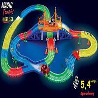 Конструктор Magic Tracks 360 деталей Mega Set