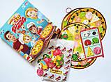 Настільна гра для всієї родини IQ Pizza 5+ (для 2-4 гравців) (Danko Toys), фото 5