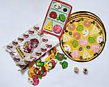 Настільна гра для всієї родини IQ Pizza 5+ (для 2-4 гравців) (Danko Toys), фото 6