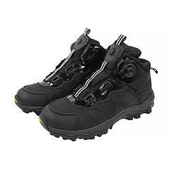 Ботинки тактические с автоматической пряжкой демисезонные ESDY 661 Black 40 5136-18617, КОД: 2451708