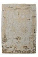 Винтажный ковёр с плоским ворсом ручной работы Nostalgia 285, песочный, серо-бежевый, коричневый