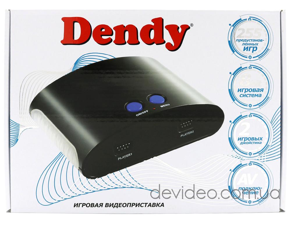 DENDY X игровая приставка | 255 встроенных игр 8 бит