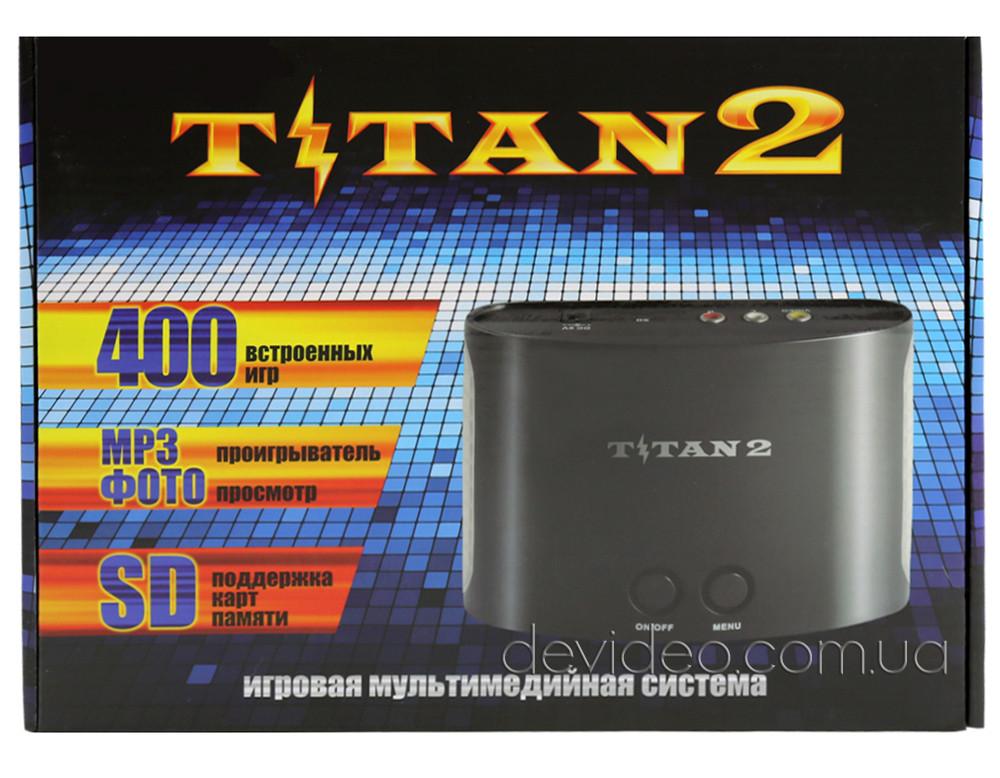 TITAN 2 игровая приставка Dendy+Sega | 400 встроенных игр 8-16 бит | поддержка карт памяти