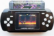 HAMY HG 806 портативная игровая приставка | 19 встроенных игр 16 бит | поддержка картриджей Sega, фото 2