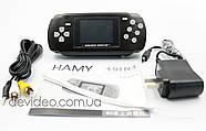 HAMY HG 806 портативная игровая приставка | 19 встроенных игр 16 бит | поддержка картриджей Sega, фото 6