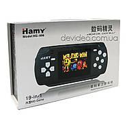 HAMY HG 806 портативная игровая приставка | 19 встроенных игр 16 бит | поддержка картриджей Sega, фото 7